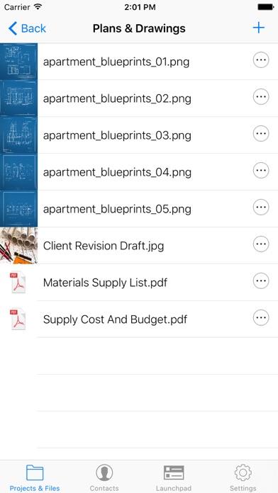 Screenshot of OnSite PlanRoom4