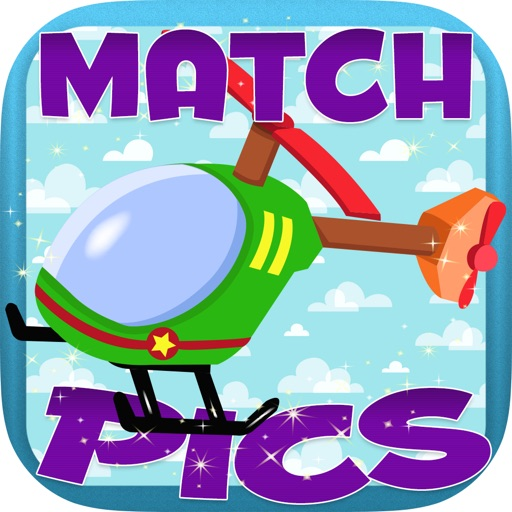 Aaron Toys for Kids Match Pics iOS App