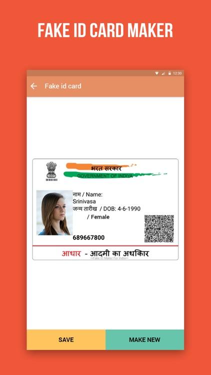 Aadhar Fake Jayadip Senjaliya Card Maker By