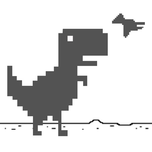 Mr Dino Steve: Super Jumping Dinosaur Widget Game iOS App
