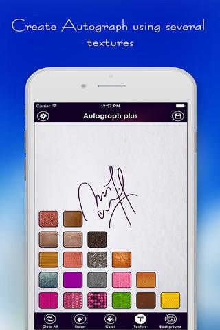 Autograph + screenshot 3