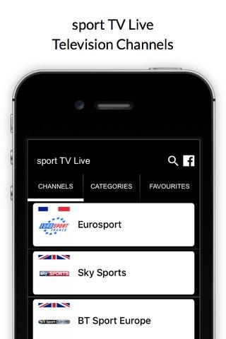 sport TV Live - Sport Television Channels screenshot 1