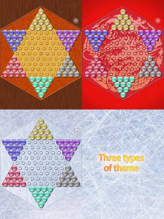 Realistic Chinese Checkers Screenshots