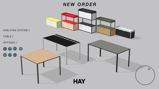 hay new order on the app store. Black Bedroom Furniture Sets. Home Design Ideas