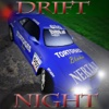 Reckless Night Drift Car Racing with Top Burnout