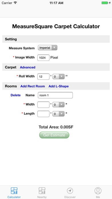 M2 Carpet Calculator On The App Store