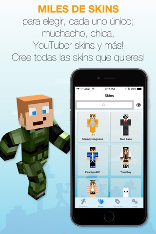 Best Skins Creator Pro - for Minecraft PE & PC screenshot 3