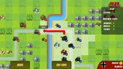 download Front Wars : WW2 Turn Based Strategy apps 0