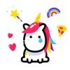 Lily Unicorn Stickers