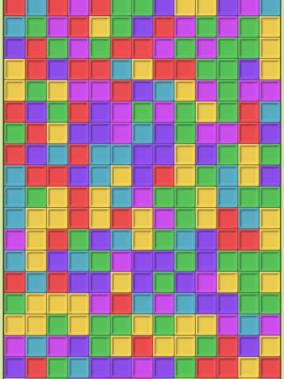 Remove colored blocks на iPad