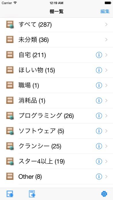 ItemShelf screenshot1