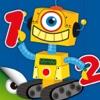 Роботы и Числа - игры на изучение чисел и сложение