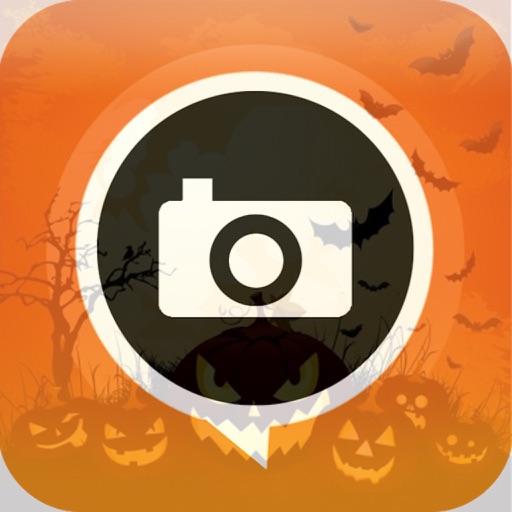 Halloween Selfie Cam-Take picperfect on Halloween iOS App