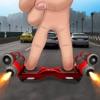 Drive Hoverboard 3D In City