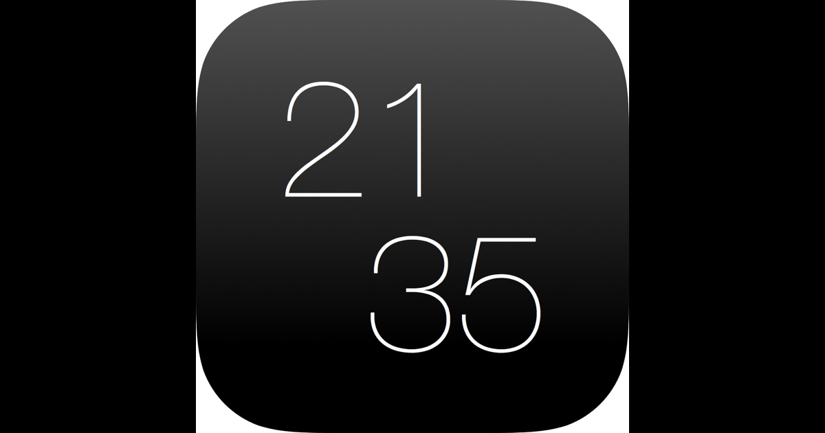 niceclock pro die sch ne uhr f r iphone und ipad im app store. Black Bedroom Furniture Sets. Home Design Ideas