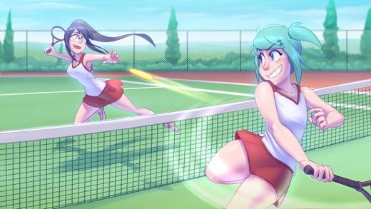 Highschool Romance Visual Novel Screenshot