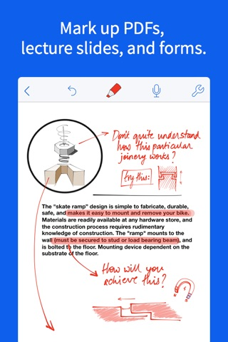 Notability screenshot 3