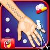Wrist Surgery Crazy - operazione chirurgo e medico del gioco libero con il corpo a raggi X