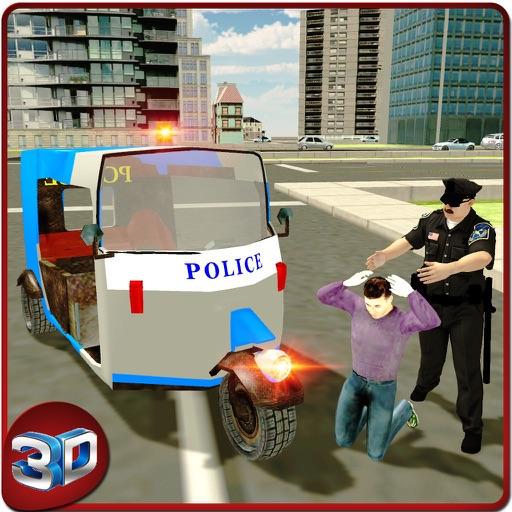 Police Tuk Tuk Rickshaw Simulator & Auto Driving iOS App