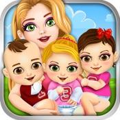 Triplet Baby Doctor Salon Spa Kids Games Free hacken