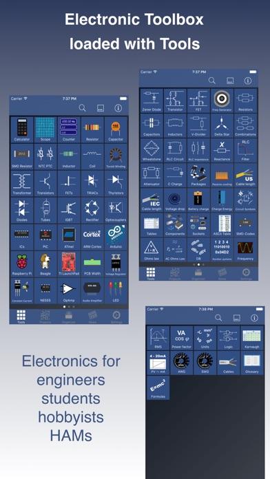 Electronic Toolbox Pro Screenshots