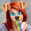 Snap Doggy Face Sticker.s for Picture.s with Cute Puppy Faces and Funny Photo Montage icon