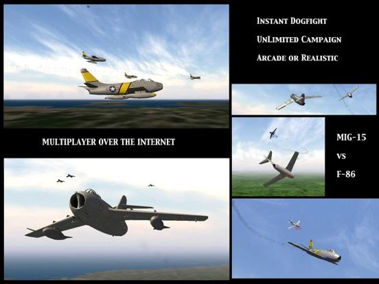 Screenshot #4 for GSIII - Flight Simulator - Heroes of the MIG Alley