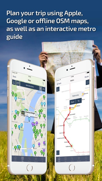 Screenshot for Prague - Offline Travel Guide in Azerbaijan App Store