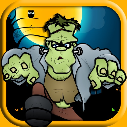 Creepy Hallow Monster in the Lost Woods of Shadow iOS App