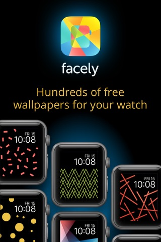 Facely — Free wallpapers for your Apple watch screenshot 1