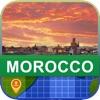 當前離線 摩洛哥 地圖 - World Offline Maps