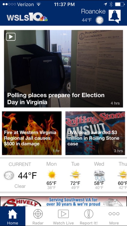 WSLS 10 - News and Weather for Roanoke, Virginia by Media