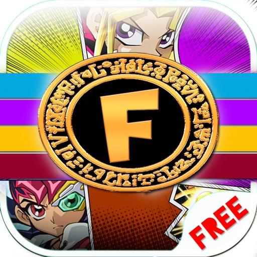 "Font Shape Anime Text Mask Themes ""For Yu-Gi-Oh! "" iOS App"