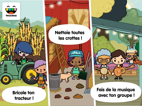 Screenshot #5 pour Toca Life: Farm