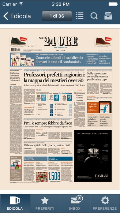 Screenshot of Il Sole 24 ORE3