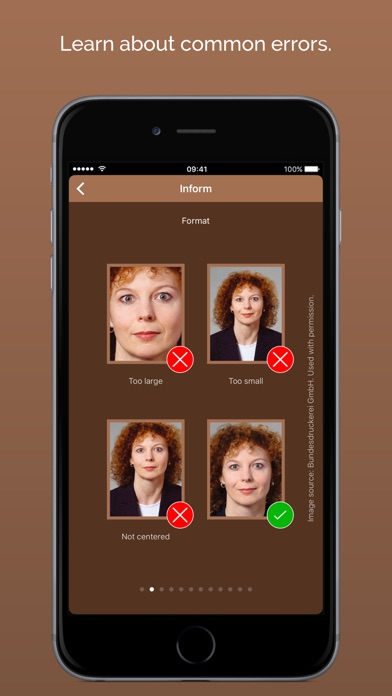 ID-Photo - Biometric Passport/ID Photos Screenshots