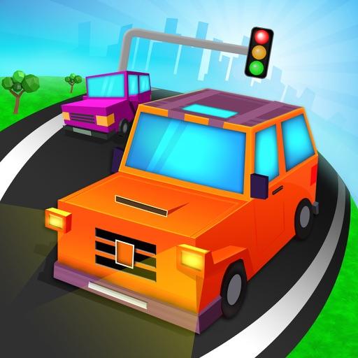 Blocky Car Parking & Driving Sim Simulator 2016