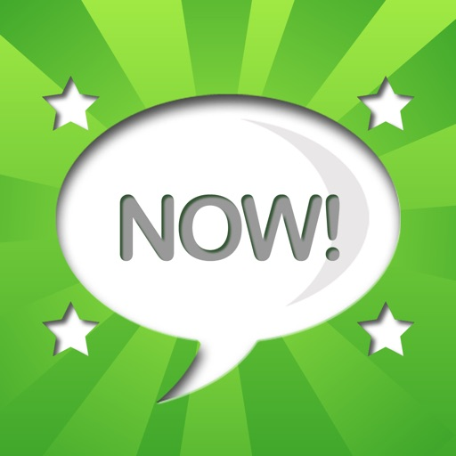Chat Now! Friends LINE UP! iOS App