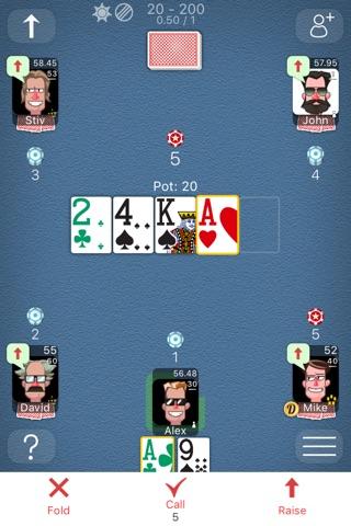 Poker Online Games screenshot 1