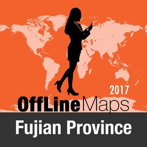 Fujian Province Mappa Offline e Guida Turistica