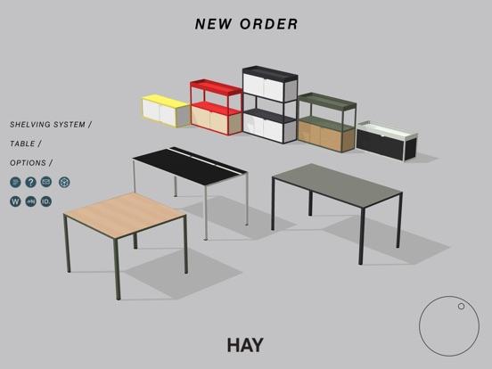 hay new order on the app store. Black Bedroom Furniture Sets. Home Design Ideas