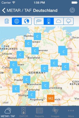 Flugwetter screenshot 3