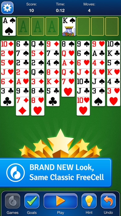 FreeCell Solitaire Card Game iPhone