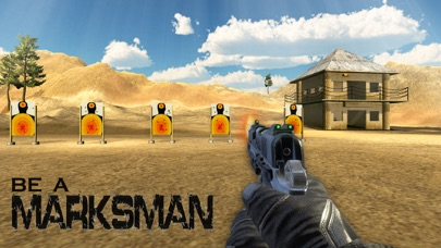 Screenshot of US Army Training pistola Simulator – tiro al bersa3