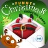 Komisch Weihnachtskarten Entworfen Mit Grüßen