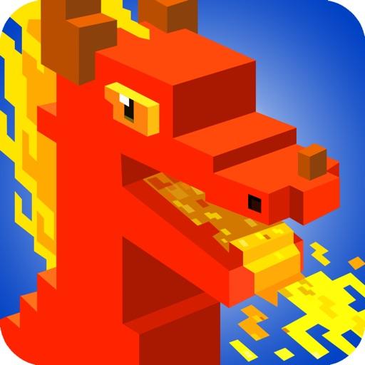 Dragon Pixel Craft - Battle & City builder games iOS App