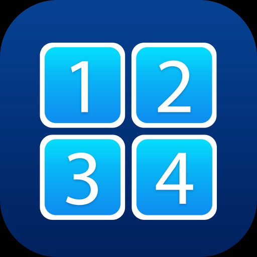 Touch Ones - Tap the Numbers in Sequence iOS App