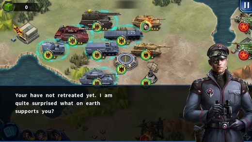 Glory of Generals 2 Screenshot
