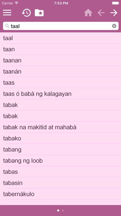 Filipino Dictionary Tagalog Dictionary