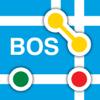 Boston Subway Map - The T